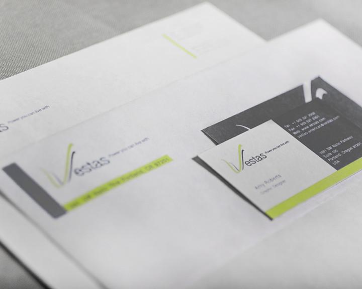 Branding, Identity, and Stationary Design - Vestas