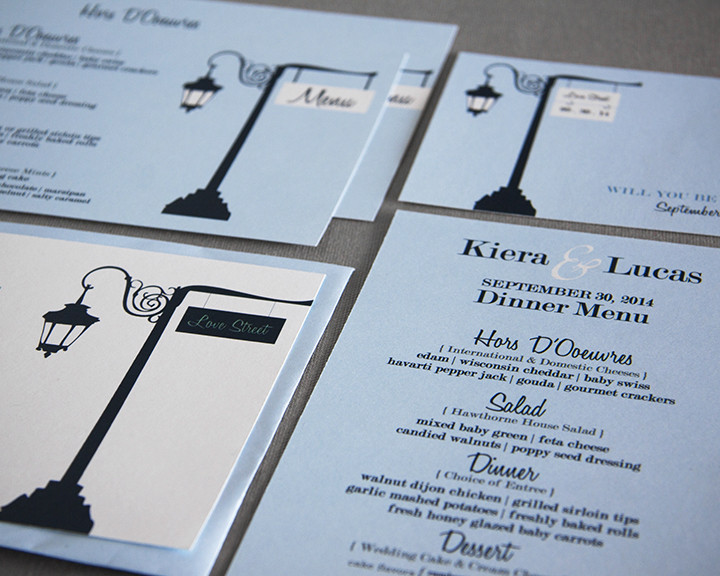 Print Design - Love Street Wedding Suite