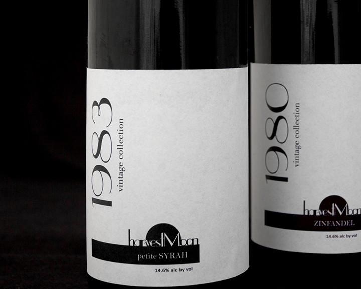 Package Design - Harvest Moon Wine Labels